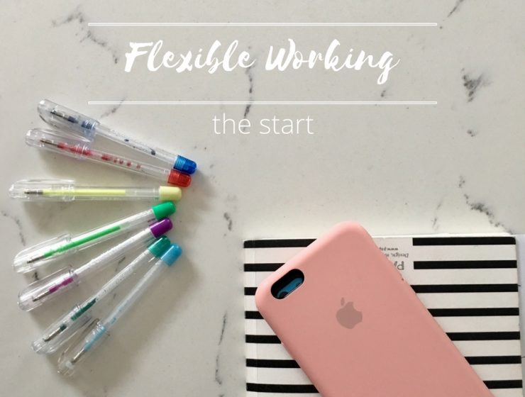 Flexible working - the start