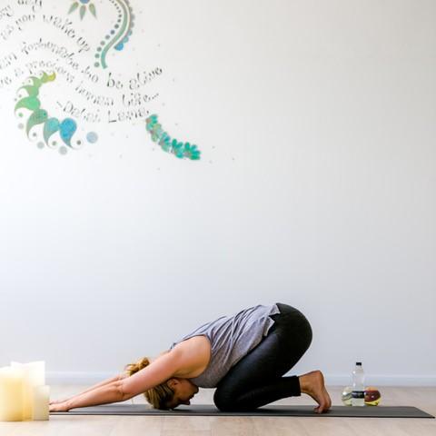 Sophie Bickerdike yoga pose