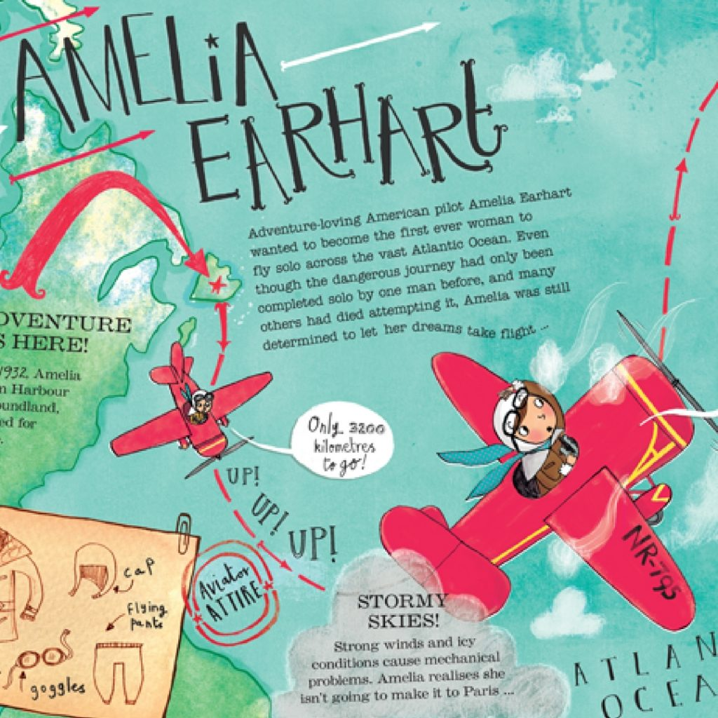 Amelia Earhart cover